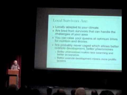 Michael Bush Part 1/4 @ Philadelphia Beekeepers Guild Natural Beekeeping Symposium - Feb 10, 2013