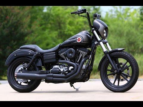 Harley Davidson Dyna exhaust sound compilation
