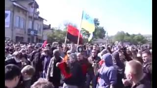 9 мая во Львове, Правый сектор