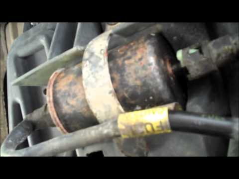 how to change fuel filter 1996 chevy express van - youtube  youtube