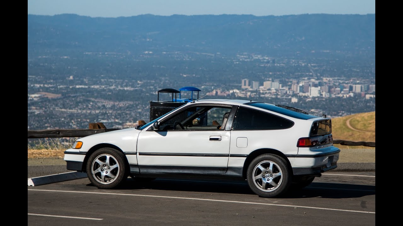 Superior 1991 CRX Si Review   The Little Honda That Could!