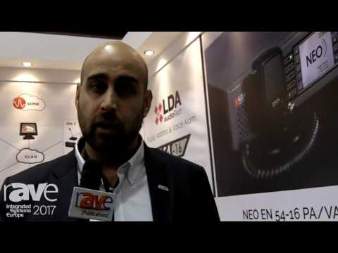 ISE 2017: LDA Audio Tech Introduces NEO EN 54-16 PA-VA System