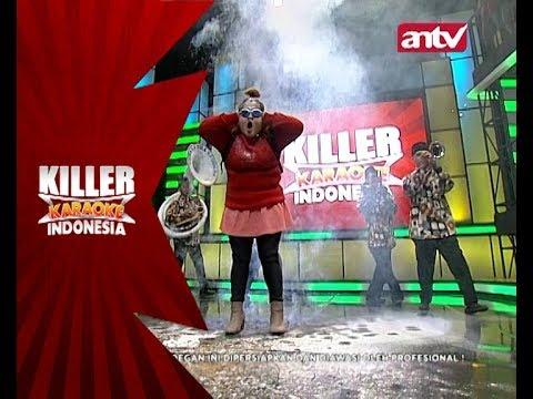 Emosinya Defni lagi nyanyi diganggu oleh Tanjidor! - Killer Karaoke Indonesia