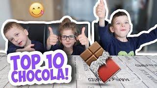 TOP 10 CHOCOLADE PROEVEN !! - KOETLIFE VLOG #696