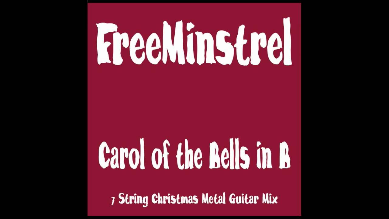 Carol of the Bells Instrumental Metal (7 String Guitar - Christmas Rock Mix) - YouTube