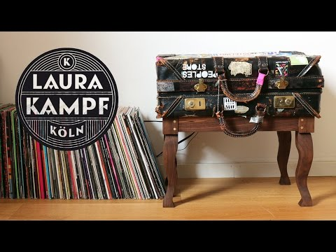 Making A Single Plywood Sheet Table Turntable Cabinet From An Old Suitcase In Trailer More Core77