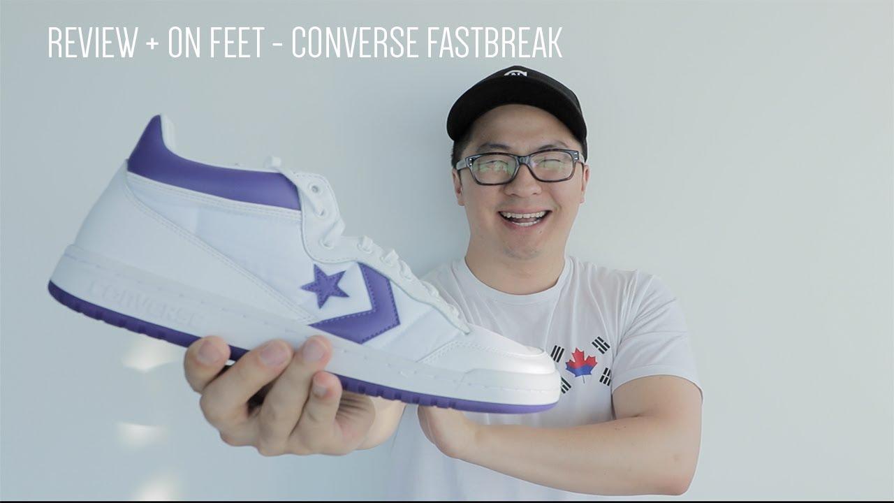 Review + On Feet : Converse Fastbreak