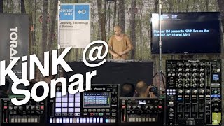 KiNK - DJsounds Show - Sonar 2017 - 2 x AS-1 and SP-16