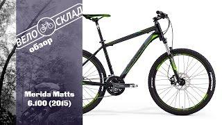 Обзор велосипеда Merida Matts 6.100 (2015)