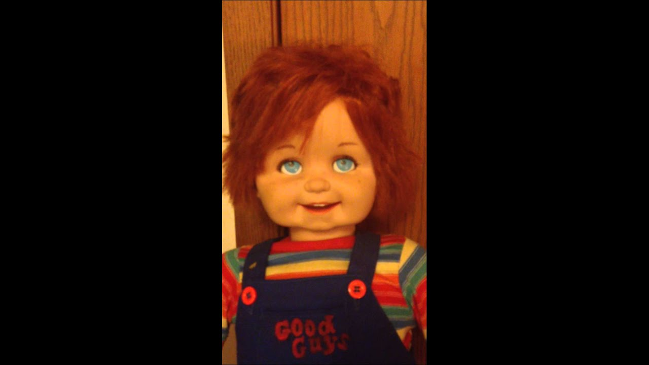 Talking Chucky Good Guy Doll Child S Play For Sale Youtube