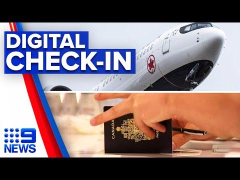 Coronavirus: Incoming passenger card replaced by digital version | 9 News Australia