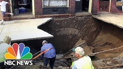 Sinkhole Swallows Man In Bedroom   Archives   NBC News