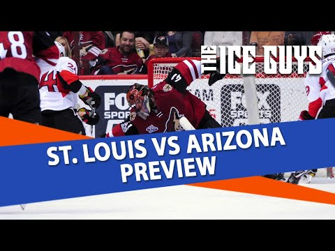 St. Louis Blues vs Arizona Coyotes | Ice Guys Clip |  NHL Free Pick