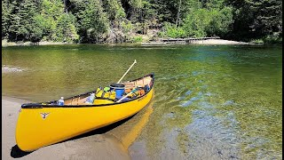 6 Day Wilderness Caฑoe Camping Trip on a Beautiful River!!