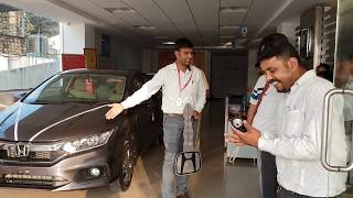 Taking Delivery of Honda City|Key Handover,Exterior,Interior and Driving|Premium Color