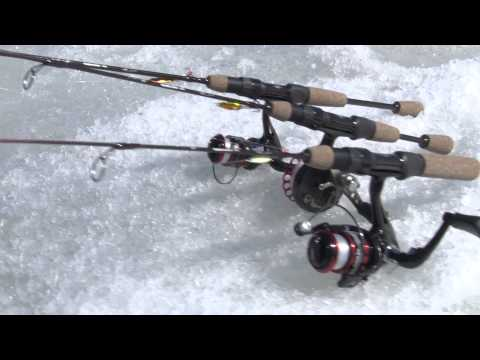 Tony Roach Power Ice Fishing Rods And Reels By Wright & McGill