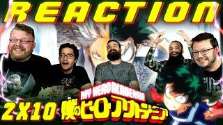 "My Hero Academia [English Dub] 2x10 REACTION!! ""Shoto Todoroki: Origin"""
