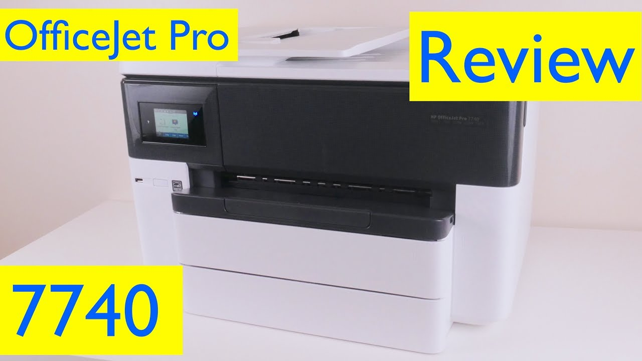 HP OfficeJet Pro 7740 Review - Wireless Wide Format All-in-One Printer