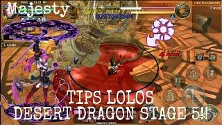 Tips and trick desert dragon nest stage 5 | dragon nest m