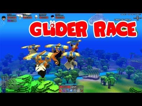 Cube World Glider Race!