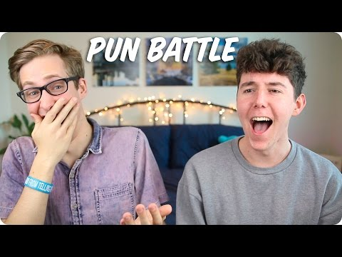 PUN BATTLE! | Evan Edinger VS MyNamesChai