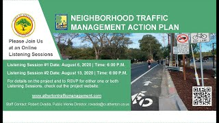 Traffic Management Listening Session 2 - August 13, 2020 (Main Room)