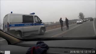 Kutno Zdarzenie drogowe - Jelonek