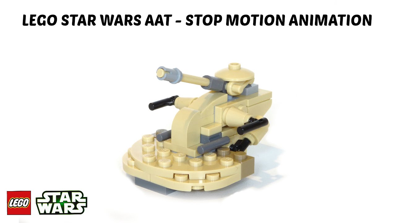 LEGO STAR WARS AAT - STOP MOTION ANIMATION