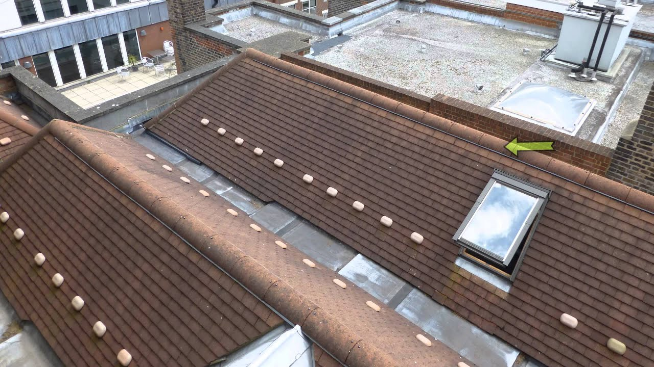 Before And After New Flat Roof 3m Sd650 Lead Box Gutters