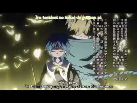 Ending Magi the Labyrinth of Magic Season 2 HD