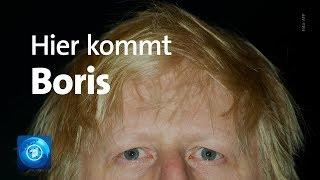 Cover images Amtsübergabe an Boris Johnson - Versöhnlicher Abschied für Theresa May