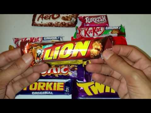 New! A lot of Candy Bars Countdown / Yummy