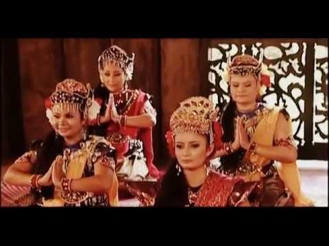 Malay Traditional Dance - Tarian Asyik (Asyik Dance) របាំម៉ាឡេ ระบำมลายู