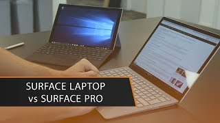 Microsoft Surface Laptop vs Surface Pro 2017 - With similar specs &...