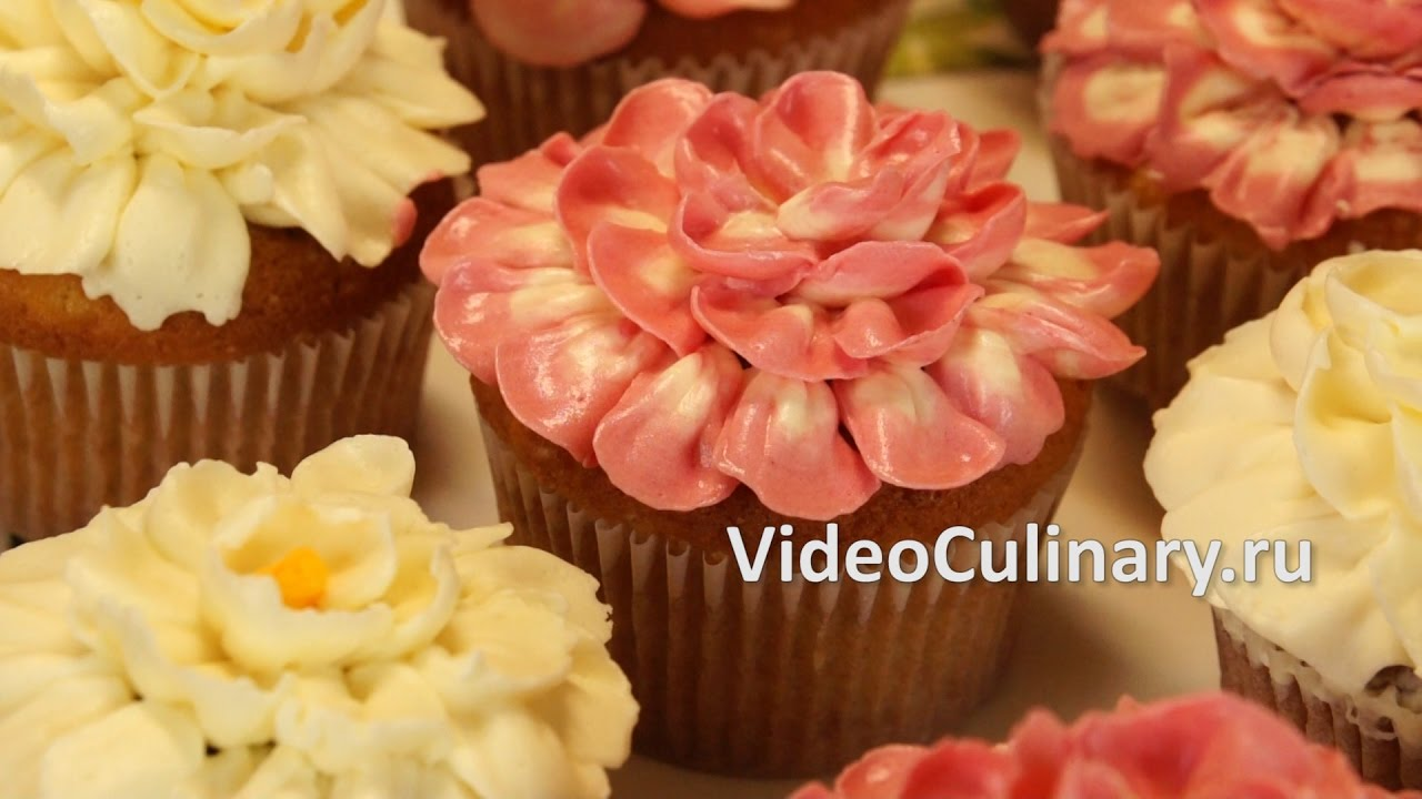 Как украсить Капкейки МАЛЫШ мастика из маршмеллоу - YouTube