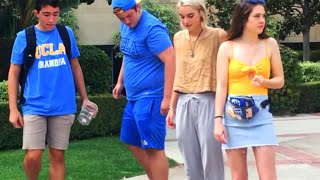 DROPPING 1,000 LIVE CRICKETS IN PUBLIC PRANK (UCLA Edition)