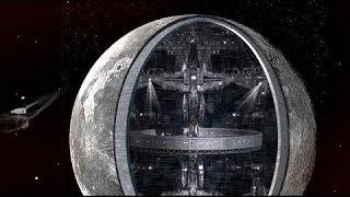 Луна - космический корабль, защищенный голограммой!