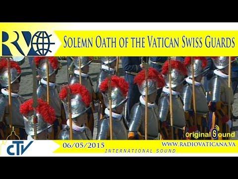 Solemn Oath of the Vatican Swiss Guards - 2015.05.06
