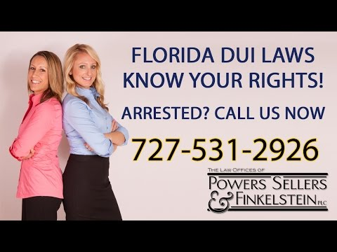 DUI Attorneys Pinellas County FL | DUI Charges in Florida http://www.PSFFirm.com