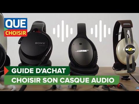 Casque audio - Guide d'achat