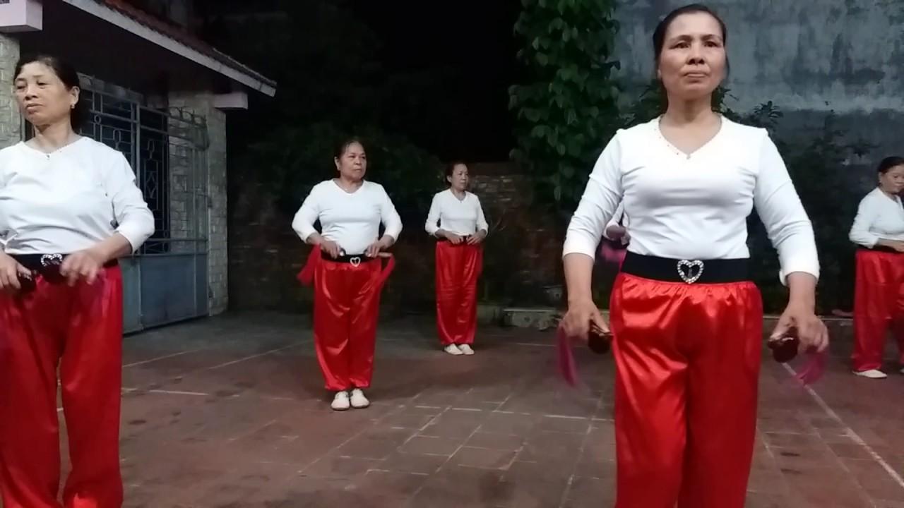 Thể dục dưỡng sinh nhịp điệu song loan .CLB Chi Đống  Bắc Ninh .