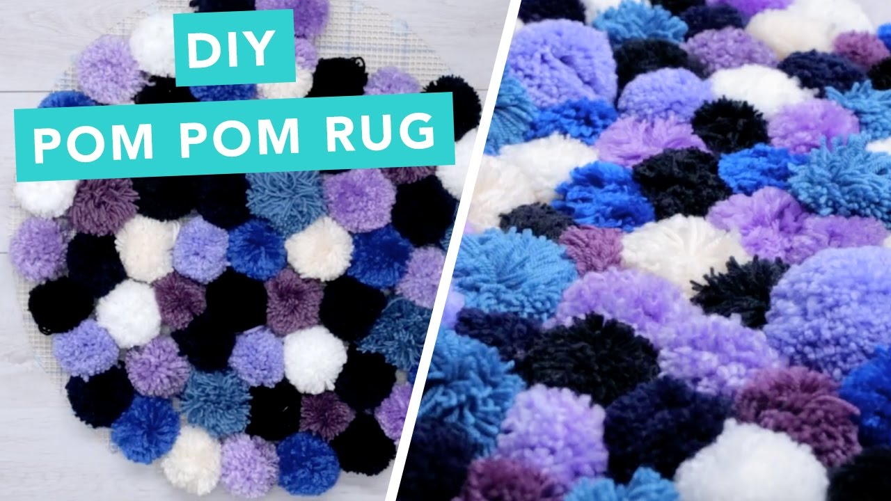 Diy Pom Rug Home Decorating Ideas Crafts Craft Factory