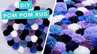 DIY Pom Pom Rug | DIY Home Decorating Ideas | Pom Pom Crafts | Craft Factory