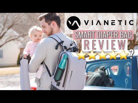 diaper-bag-review-2019-|-vianetic-5-in-1-diaper-bag-backpack
