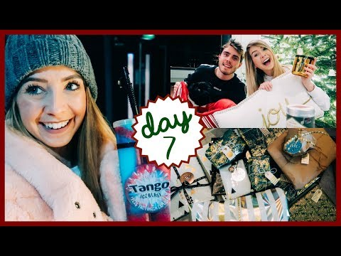 AMERICAN CHRISTMAS BOX SWAP | VLOGMAS