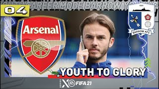 JAMES MADDISON AT ARSENAL?! FIFA 21   Youth Academy Career Mode S5 Ep4