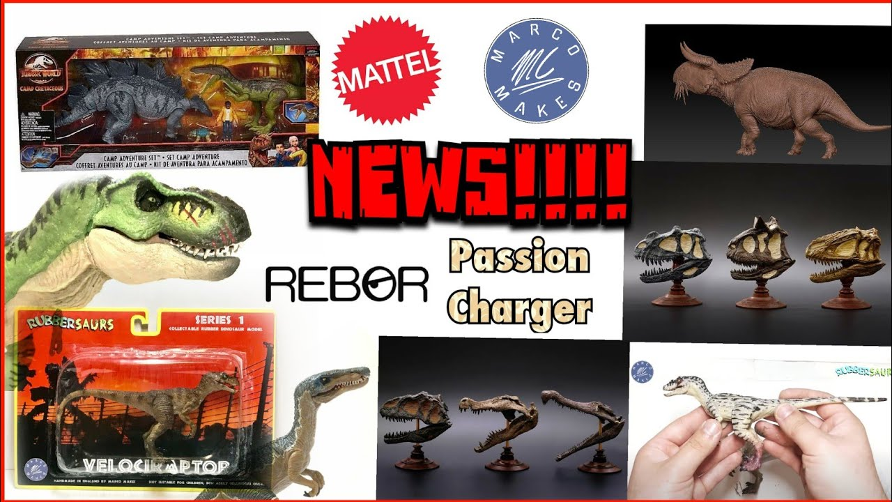 NEWS!!! New Camp Cretaceous Set revealed! New images of Amber Collection Delta! & more!!!