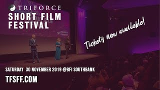 TriForce Short Film Festival 2019 | Book your ticket!