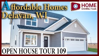 Open House Tour (109) - Affordable New Home Designs at Ellis Farms in Delavan Wisconsin