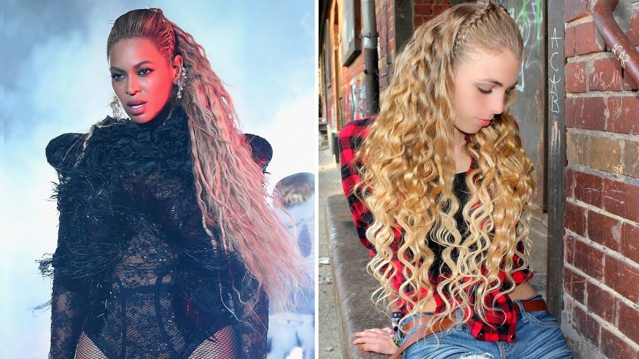 Beyonce Vmas 2016 Lemonade Medley Inspired Deep Waves Braid Hairstyle Tutorial Besthairbuy Hair